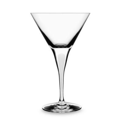 Orrefors Intermezzo Satin 7-Ounce Martini Glass