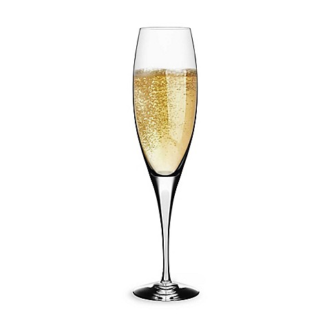 Orrefors Intermezzo Satin 3-Ounce Champagne Glass
