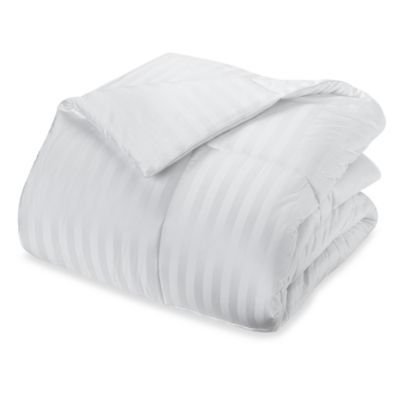 Real Simple King Down Comforter in White