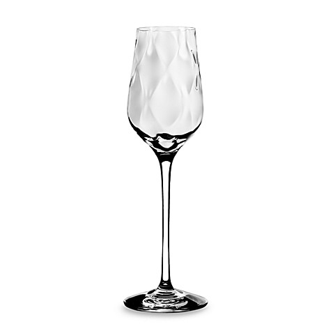 Orrefors Dizzy Diamond 4 3/5-Ounce Dessert Wine Glass