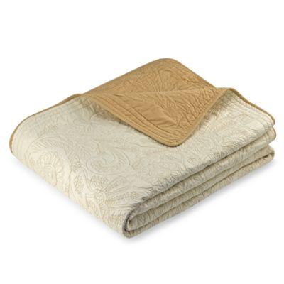 Vallejo Queen Bedspread in Ivory
