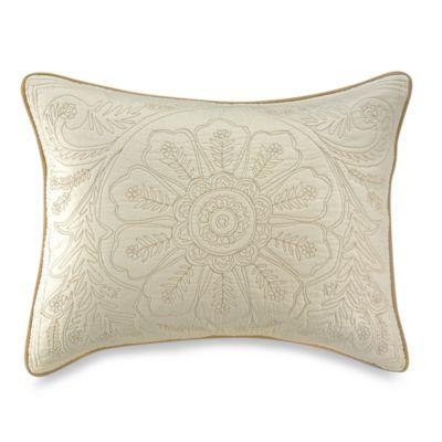 Vallejo Ivory Standard Pillow Sham