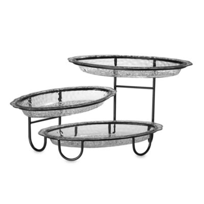 CreativeWare™ Three-Tier Buffet Server