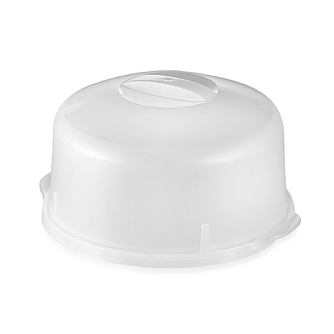 CreativeWare™ Cake Plate with Lid