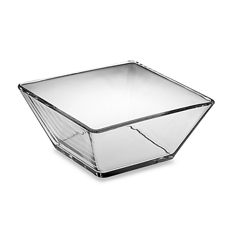 Libbey® Tempo 9-Inch Square Glass Serving Bowl