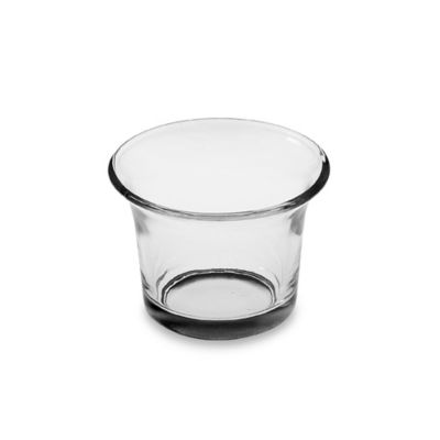 2-Inch Flared Glass Tealight Holder