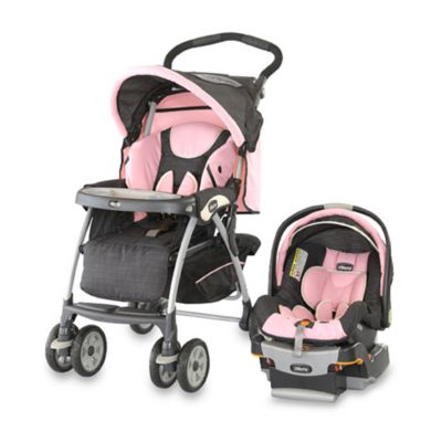 Chicco® KeyFit 30 Cortina Travel System in Bella Pink