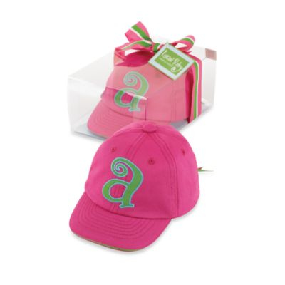 "Mud Pie™ Letter ""O"" 100% Cotton Cap"