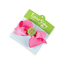 Mud Pie® Initial Baby Hair Bow