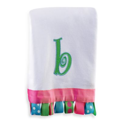Letter Cotton Blanket