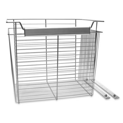 John Louis Home 20-Inch x 24-Inch x 16-Inch Wire Basket