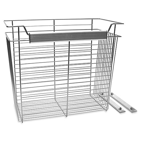 John Louis Home 20-Inch x 24-Inch x 12-Inch Wire Basket