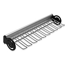 John Louis Home 16-Inch Side Mount Tie and Belt Rack