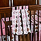 Prep School Diaper Stacker in Pink
