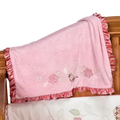 Bananafish® Love Bird Blanket
