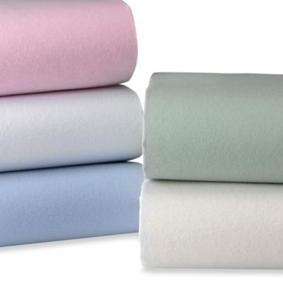 TL Care® Deluxe Cotton Flannel Crib Sheet