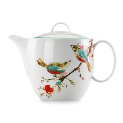 Simply Fine Lenox® Chirp 52-Ounce Teapot with Lid