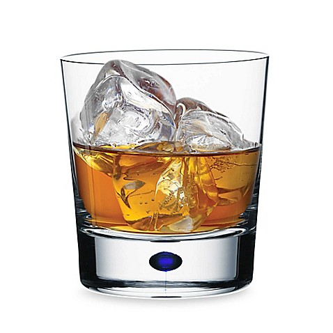 Orrefors Intermezzo Blue 13 oz. Double Old Fashioned
