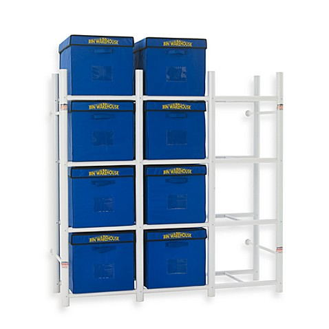 Buy Bin Warehouse 12 Tote Storage System From Bed Bath