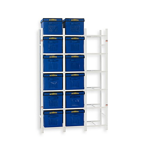 Bin Warehouse 18 File Box Storage System