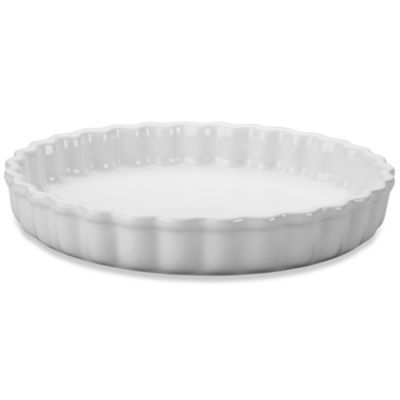 Le Creuset® 9 1/2-Inch Tart Dish in White