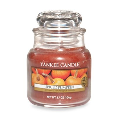 Yankee Candle® Housewarmer® Spiced Pumpkin Small Classic Candle Jar