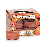 Yankee Candle® Spiced Pumpkin Tea Light Accent Candles (Box of 12)