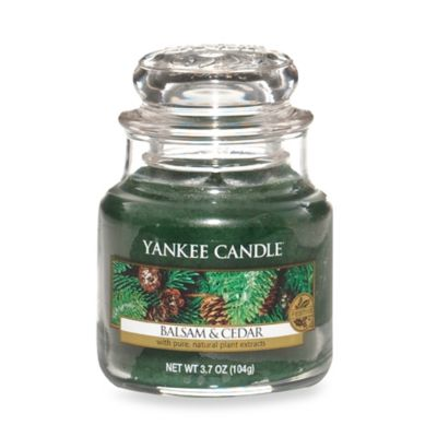 Yankee Candle® Housewarmer® Balsam and Cedar™ Small Classic Candle Jar