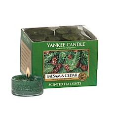 Yankee Candle® Balsam and Cedar™ Tea Light Accent Candles (Box of 12)