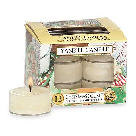 Yankee Candle® Christmas Cookie Tea Light Accent Candles (Box of 12)