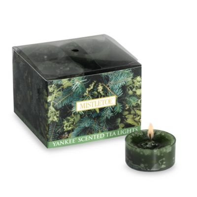 Yankee Candle® Mistletoe™ Tea Light Accent Candles (Box of 12)