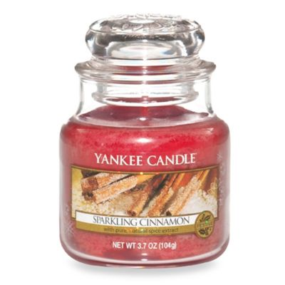 Yankee Candle® Housewarmer® Sparkling Cinnamon Small Classic Candle Jar