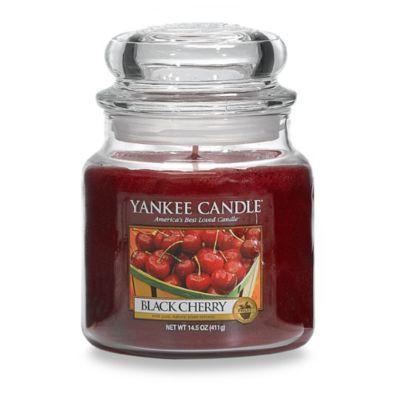 Yankee Classic® Housewarmer® Black Cherry Medium Classic Jar Candle