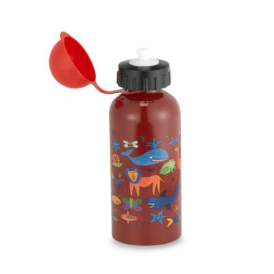 Quench™ Stainless Steel Kid's Water Bottle in Red Zoo