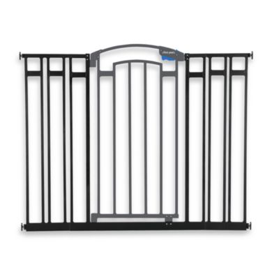 The First Years® Extra Tall Metal Home Decor Gate in Black/Grey