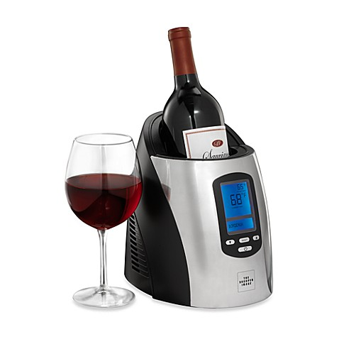 The Sharper Image® Single Wine Chiller
