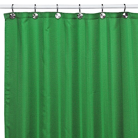Westerly Green Fabric Shower Curtain Bed Bath Beyond