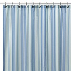 Baja Stripe Cape Cod 72-Inch x 72-Inch Fabric Shower Curtain