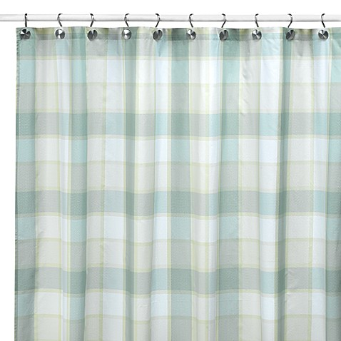 Barton Fresco 72-Inch x 72-Inch Fabric Shower Curtain