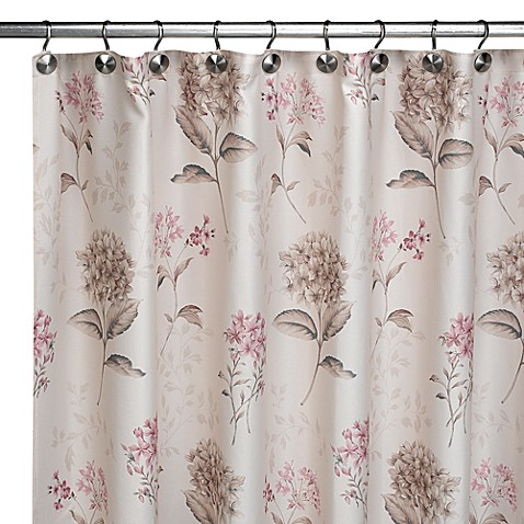 Flower Blossom Fabric Shower Curtain By Croscill Bed Bath Beyond