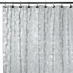 Ice Cubes Vinyl 70-Inch W x 72-Inch L Shower Curtain