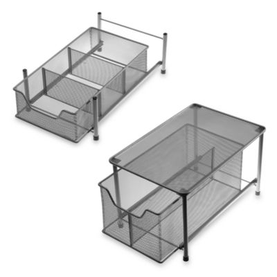 Steel Sink Storage
