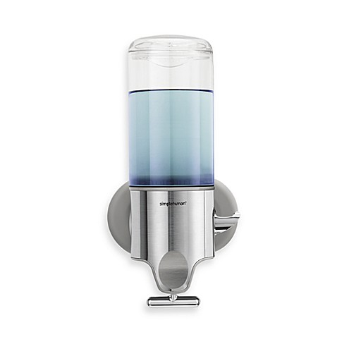 Simplehuman Bath Soap And Shampoo Dispenser Bed Bath Beyond