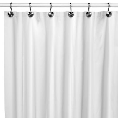Eco Soft Ivory Shower Curtain Liner