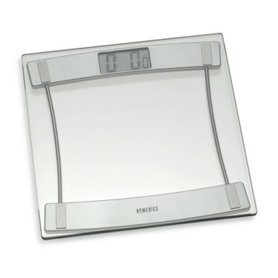 HoMedics® Glass Digital Bathroom Scale Bath