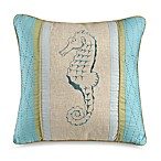 Natural Shells Square Toss Pillow