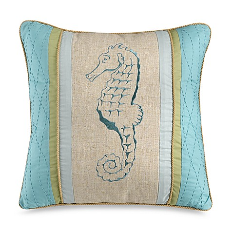 Natural Shells Square Throw Pillow