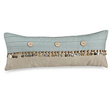 Natural Shells Oblong Throw Pillow