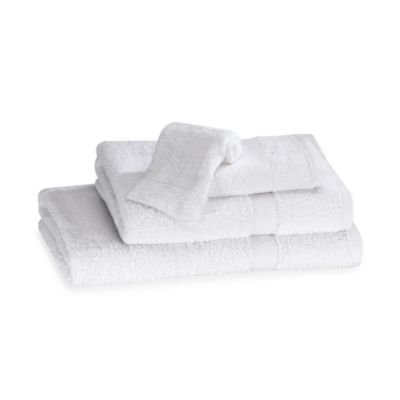 Simply Soft Hand Towel in White