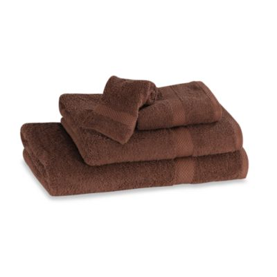 Simply Soft Hand Towel in Espresso